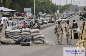 Beg For Mercy: Boko Haram Fighters Surrender to Nigerian Troops